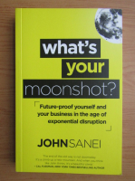 Anticariat: John Sanei - What's your moonshot?