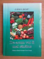 Anticariat: Lidia Boje - De-acum voi fi mai sanatos