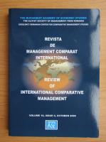 Anticariat: Revista de management comparat international, volumul 10, nr. 4, octombrie 2009