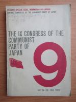 Anticariat: The IX congress of the communist party of Japan