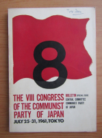 Anticariat: The VIII congress of the communist party of Japan