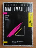 Anticariat: C. Renard - Exercices resolus mathematiques