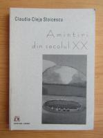 Anticariat: Cladia Cleja Stoicescu - Amintiri din secolul XX