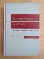 Anticariat: Dale Yoder - Personnel Principles and Policies