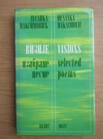 Anticariat: Desanka Maksimovic - Visions (editie bilingva)