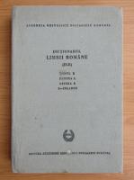 Anticariat: Dictionarul limbii romane (volumul 10, partea 1)