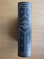 Anticariat: Goethe - Werke (volumul 23-24, 1920)