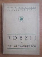 Anticariat: Grigore Alexandrescu - Poezii (1923)