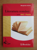 Margareta Onofrei - Literatura romana pentru BAC. Poezia