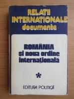 Anticariat: Nicolae Ecobescu - Romania si noua ordine internationala (volumul 1)