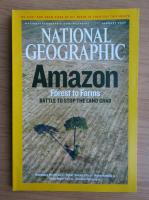 Anticariat: Revista National Geographic, ianuarie 2007