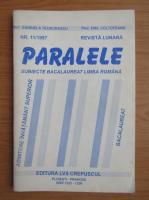 Anticariat: Revista Paralele, nr. 11, 1997