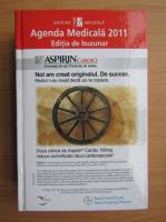 Anticariat: Agenda medicala 2011. Editie de buzunar