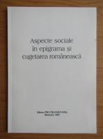 Anticariat: Aspecte sociale in epigrama si cugetarea romaneasca