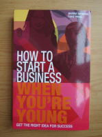 Anticariat: Barrie Hawkins - How to start a business when you're young