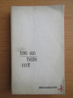 Boris Vian - Theatre inedit