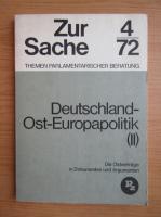 Anticariat: Deutschland Ost-Europapolitik