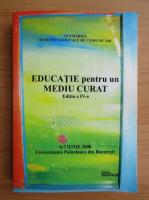 Anticariat: Educatie pentru un mediu curat, 2008