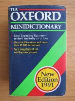 Anticariat: Joyce M. Hawkins - The Oxford minidictionary