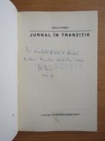 Anticariat: Mircea Cosea - Jurnal in tranzitie (cu autograful autorului)