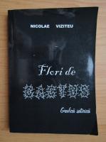 Anticariat: Nicolae Viziteu - Flori de cactus. Grafica satirica