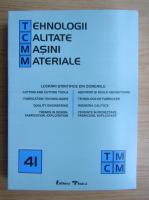 Anticariat: Tehnologii, calitate, masini, materiale, nr. 41, 2000