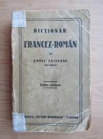 Anticariat: Constantin Saineanu - Dictionar francez-roman (1948)