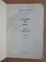 Anticariat: Dumitru Capoianu - Flacari de sange (cu autograful autorului)