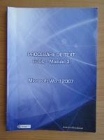 Anticariat: ECDL modulul 3. Procesare de text, Word 2007