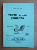 Anticariat: Fulvia Turcu - Teste de limba engleza