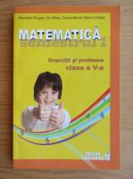 Anticariat: Gheorghe Drugan - Matematica. Exercitii si probleme pentru clasa a V-a, semestrul I