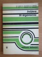 Gheorghe Rangu - Initiere in ergonomie