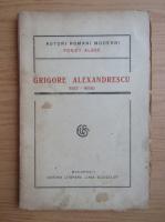 Anticariat: Grigore Alexandrescu - Poezii alese (1921)