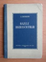 Anticariat: I. Cronrod - Bazele hozrasciotului