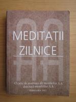 Anticariat: Meditatii zilnice