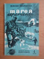 Anticariat: Mircea Naumescu - Marea experienta, nr. 4, 1955