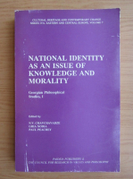 Anticariat: National identity as an issue of knowledge and morality