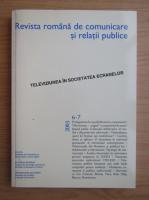 Anticariat: Revista Romana de Comunicare si Relatii Publice, nr. 6-7, 2003
