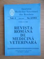 Anticariat: Revista Romana de Medicina Veterinara, volumul 4, nr. 3, 1994