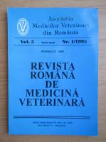Anticariat: Revista Romana de Medicina Veterinara, volumul 5, nr. 1, 1995