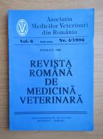 Anticariat: Revista Romana de Medicina Veterinara, volumul 6, nr. 4, 1996