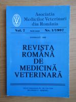 Anticariat: Revista Romana de Medicina Veterinara, volumul 7, nr. 1, 1997