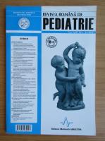 Anticariat: Revista Romana de Pediatrie, volumul LXII, nr. 1, 2013