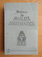 Romulus Cristescu - Dictionar de analiza matematica