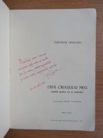 Anticariat: Theodor Grigoriu - Oda orasului meu (cu autograful autorului)