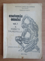 Anticariat: V. Ranga - Anatomia omului, volumul 1, partea I. Peretii trunchiului