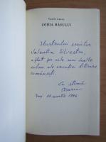 Anticariat: Vasile Larco - Zodia rasului (cu autograful si dedicatia autorului)