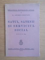 Alexandru Lascarov-Moldovanu - Satul, satenii si serviciul social (1939)