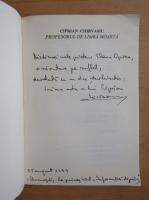 Ciprian Chirvasiu - Profesorul de limba moarta (cu autograful autorului)