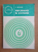 Constantin Bordeianu - Performante in zootehnie